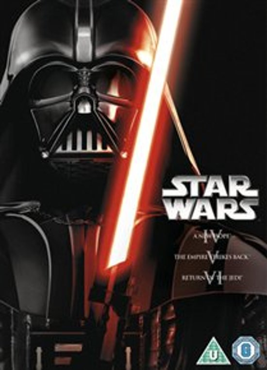 DVD cover van Star Wars Trilogy Ep 4-6 (Import)