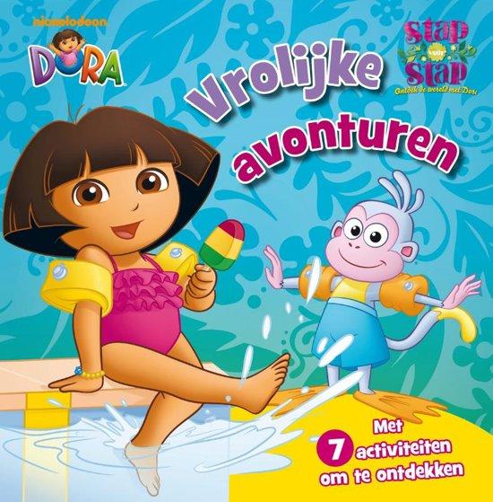 Boek cover Stap voor stap met Dora Vrolijke avonturen van  (Hardcover)