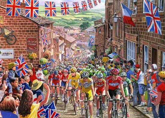 Gibsons puzzel Le Tour de Yorkshire - Gift Box - Steve Crisp - 500 stukjes