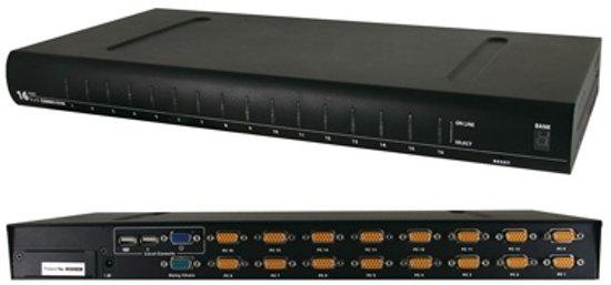 Value KVM Switch 1 User 16 PCs USB 19 inch