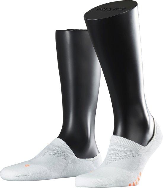 FALKE Cool Kick Unisex Sneakersokken - Wit - Maat 37-38