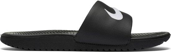 Nike Kawa Slide Bgp Slippers Jongens - Black/White