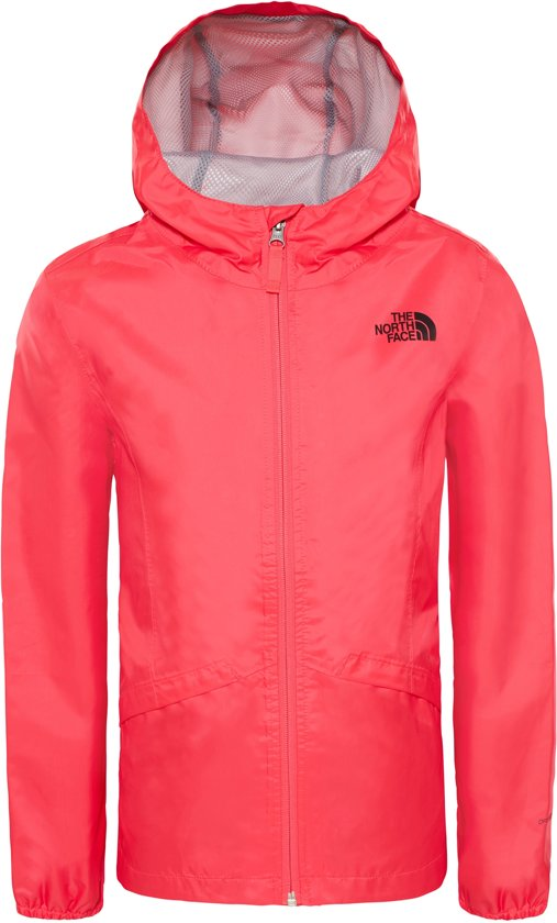 ebea510111bd The North Face Zipline Rain Jacket Jas Kinderen - Atomic Pink
