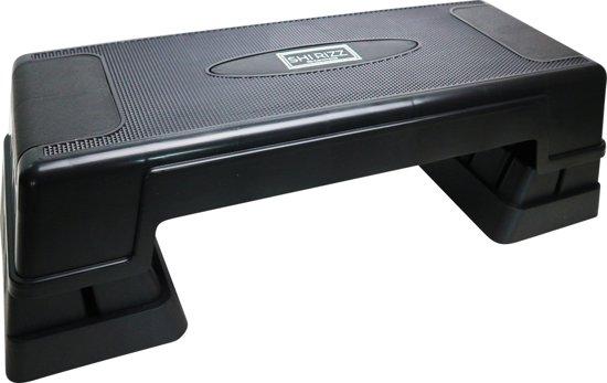 SHIRIZZ Verstelbare Aerobic Step - 3 verstelbare hoogtes - Zwart