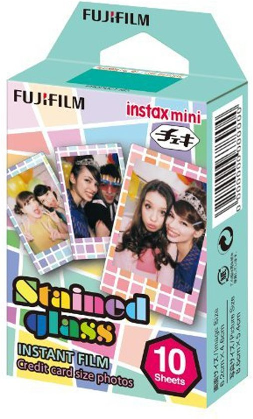 Fujifilm Instax Mini Film - Stained Glass - 10 stuks