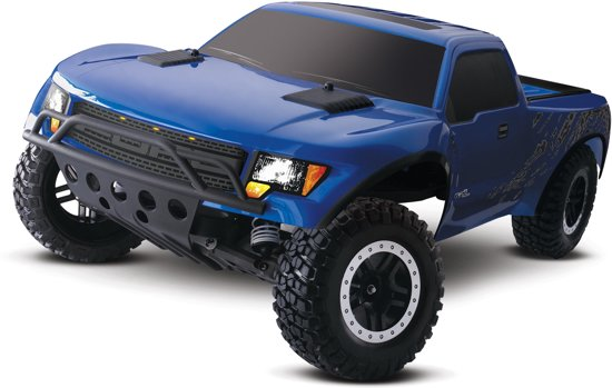 Traxxas Ford F-150 SVT Raptor 2WD Brushed Blauw