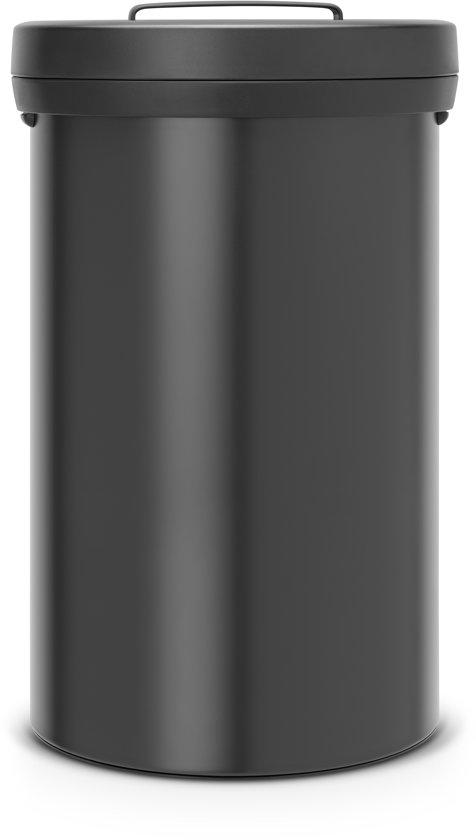 Brabantia Prullenbak 60 Liter.Brabantia Big Bin Prullenbak 60 L Zwart