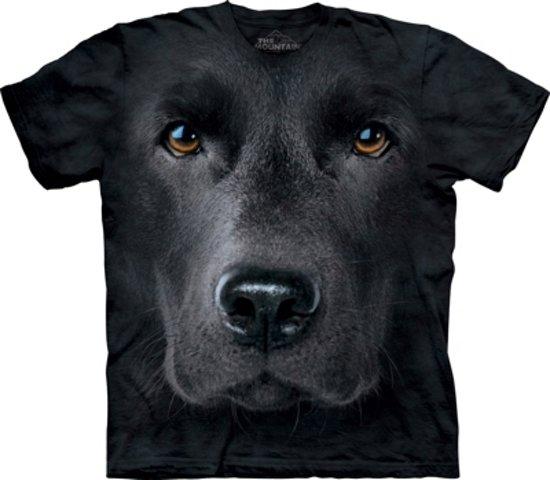 Honden T-shirt zwarte Labrador XL