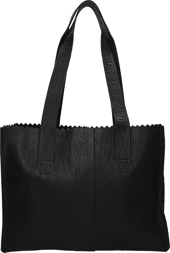 my handtassen Paper Bag zwart Handbag Myomy 8FqYT5