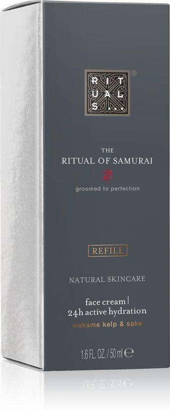 RITUALS The Ritual of Samurai Dagcrème - 24h Actieve Hydratatie Refill - 50 ml