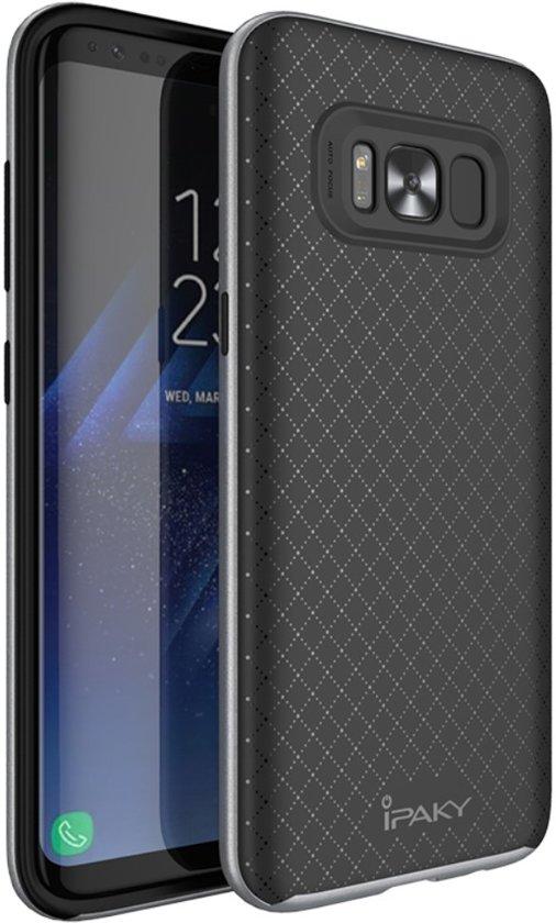 Gris Tpu Cas Pour Protéger Samsung Galaxy S8, Plus