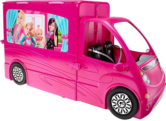 barbie glamour camper mattel speelgoed. Black Bedroom Furniture Sets. Home Design Ideas
