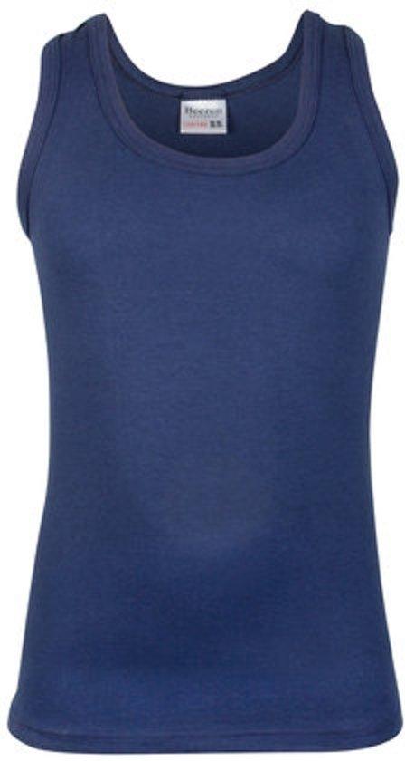 Beeren Jongens Hemd Blauw-146/152