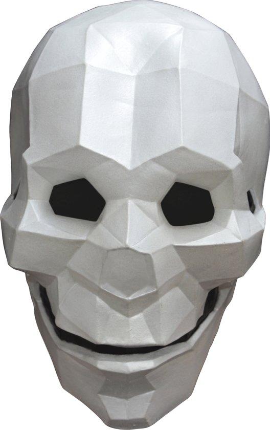 Low Poly skelet masker - Verkleedmasker - One size