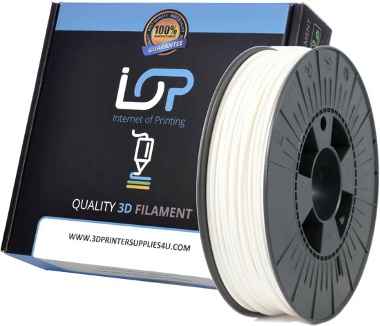 IOP PLA 2,85mm White 500gr