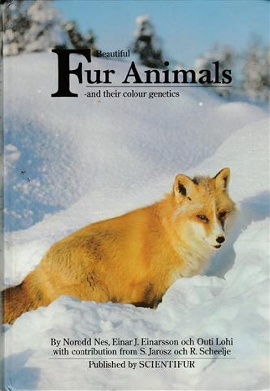 Beautiful Fur Animals -and their colour genetics