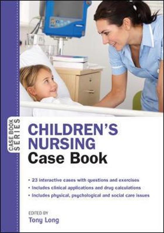 Bol Childrens Nursing Case Book 9780335264629 Tony Long