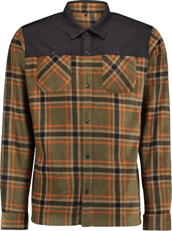 O'Neill Shirt Hybrid fleece - Green Aop - Xl