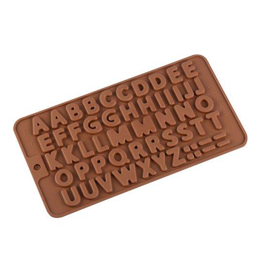 Kitchen Princess - Siliconen Chocoladevorm Alfabet Klein - Fondant Bonbonvorm