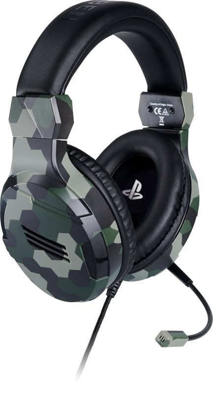 Cover van de game Official Licensed Playstation 4 Stereo Gaming Headset - PS4 - Camo