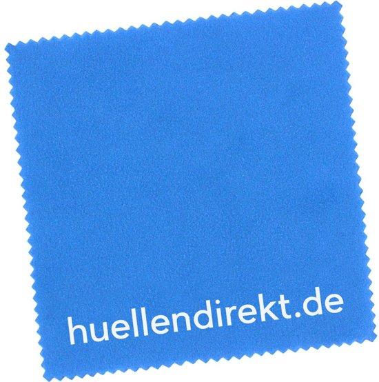 huellendirekt.de Microfiber Reinigingsdoek Blauw 15x15cm