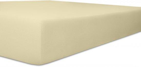 100 % Katoen hoeslaken 90 x 200 hoek 30cm kleur ECRU
