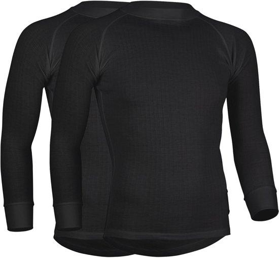 Avento 2-pack Thermoshirts Heren - Zwart