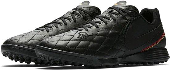 huge discount 2d7f9 60cf6 Nike TiempoX Ligera IV 10R TF Sportschoenen - Maat 43 - Mannen - zwart