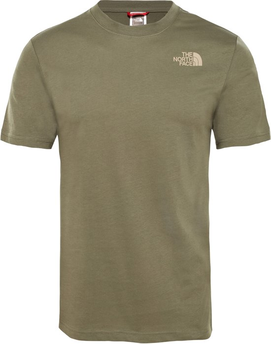 Redbox The North Shirt Tee Eu Tan S s GreenKelp Face Taupe HerenNew 13FlcuTKJ