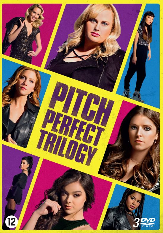 DVD cover van Pitch Perfect 1 t/m 3