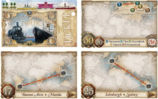 Ticket to Ride Rails & Sails Engelstalig - Bordspel