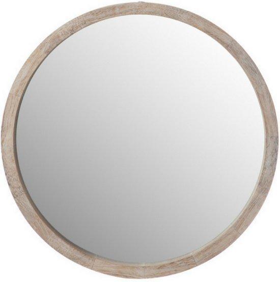 Interesting kleine wandspiegel hout rond with plakspiegel rond for Ronde plakspiegel