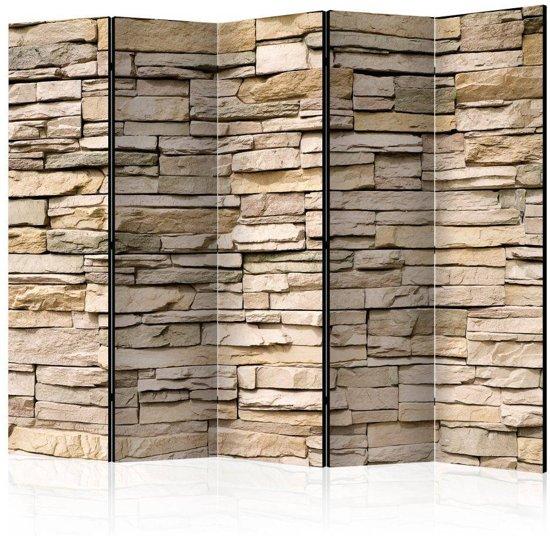 Vouwscherm - Decorative Stone II [Room Dividers]