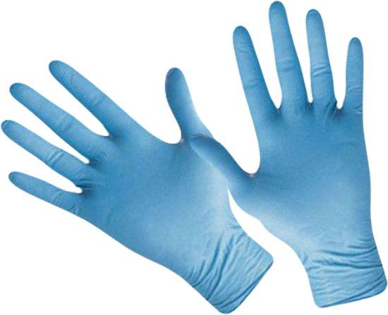 bol com latex handschoenen handschoen blauw maat xllatex handschoenen handschoen blauw maat xl, dispenserdoos 100 stuks