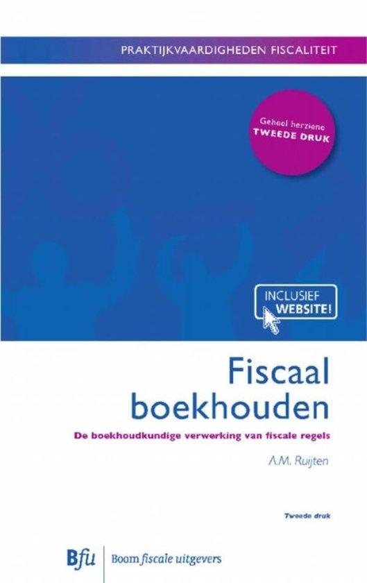 Boom fiscale studieboeken - Fiscsaal boekhouden