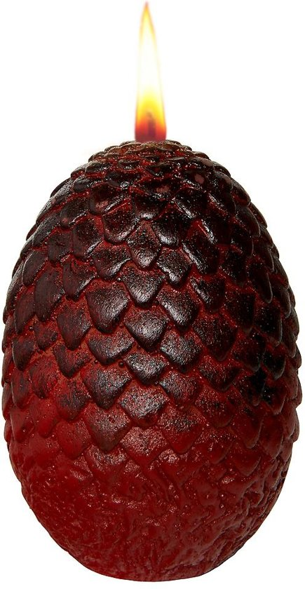 Game of Thrones Sculpted Dragon Egg Candle