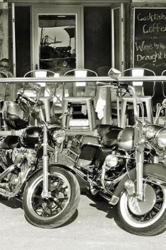 Motorbike - Notebook with Quotes about Motorcycle, 120 Lined Pages #7
