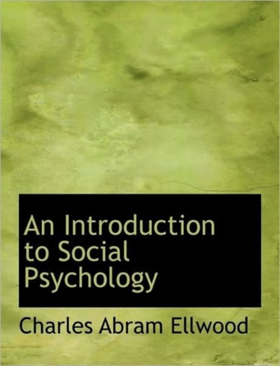 an introduction to society