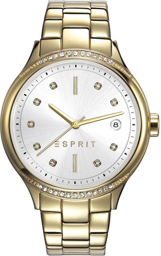 Esprit ES108562002 Horloge - Dames - Goudkleurig - Ø 38 mm