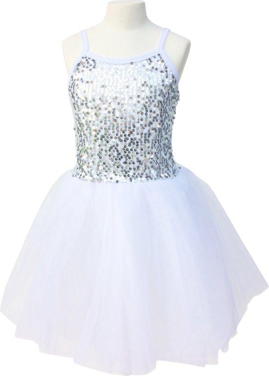 witte prinsessenjurk