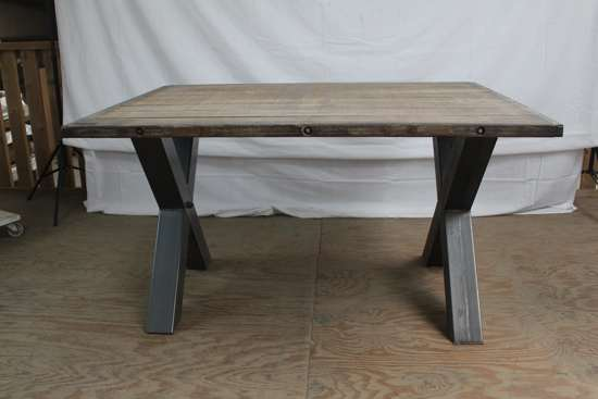 Fabulous bol.com | tafel steenschot stalen poot #NW21