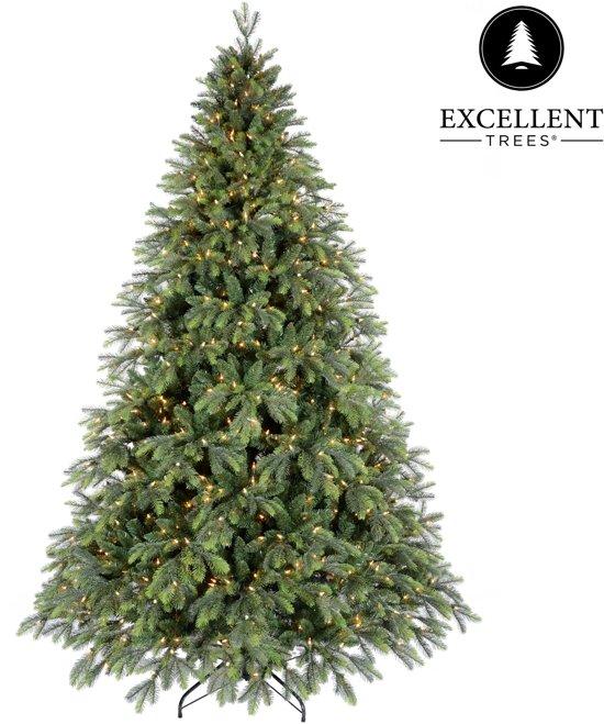 Kerstboom Excellent Trees Led Kalmar 150 cm met verlichting - Luxe uitvoering - 210 Lampjes