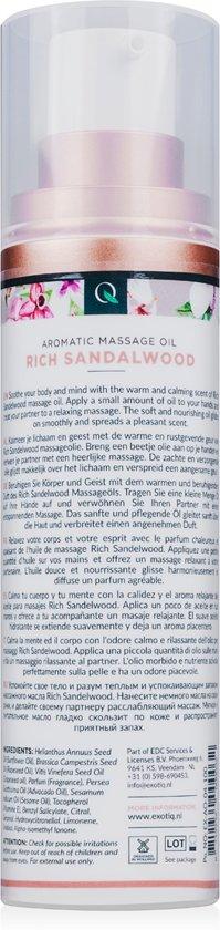 Exotiq Massageolie Rich Sandalwood - 100 ml