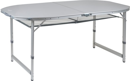 Bo Camp Aluminium Roltafel.Bo Camp Tafel Premium Ovaal Koffermodel 150x80 Cm