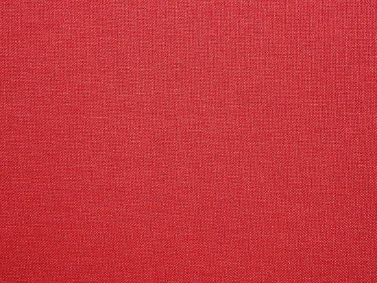 Beliani 3-Zits bank gestoffeerd rood KUOPIO