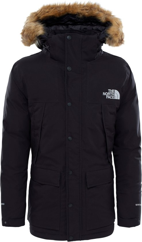 Winterjas Parka Heren.The North Face Mc Murdo Parka Heren Jas Maat Xl Mannen Zwart