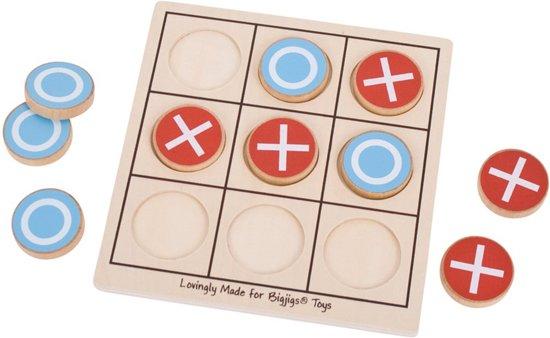 Afbeelding van het spel Boter, kaas en eieren. Kruisje - rondje, Bigjigs