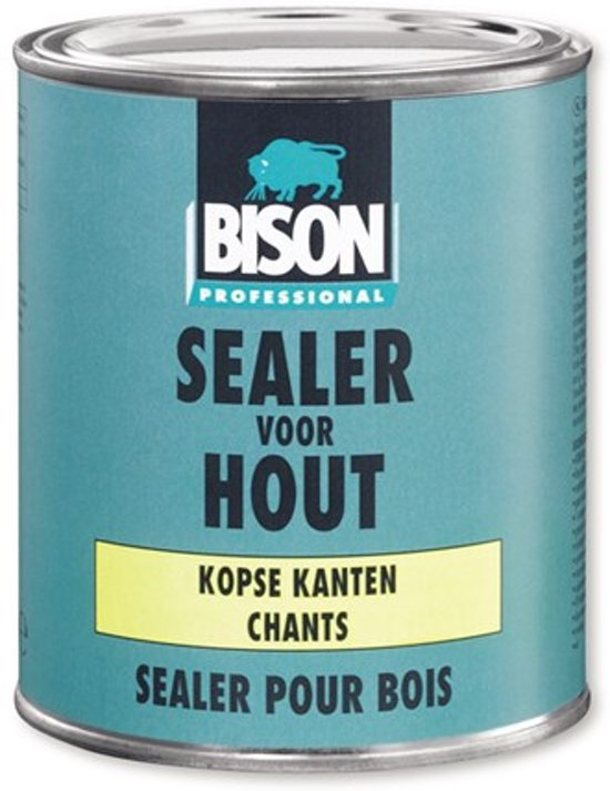 Bison sealer voor hout kopse kanten 750ml transp.6302542