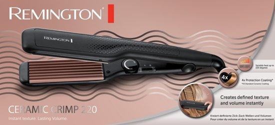 Remington S3580 Ceramic Crimp 220 Wafeltang