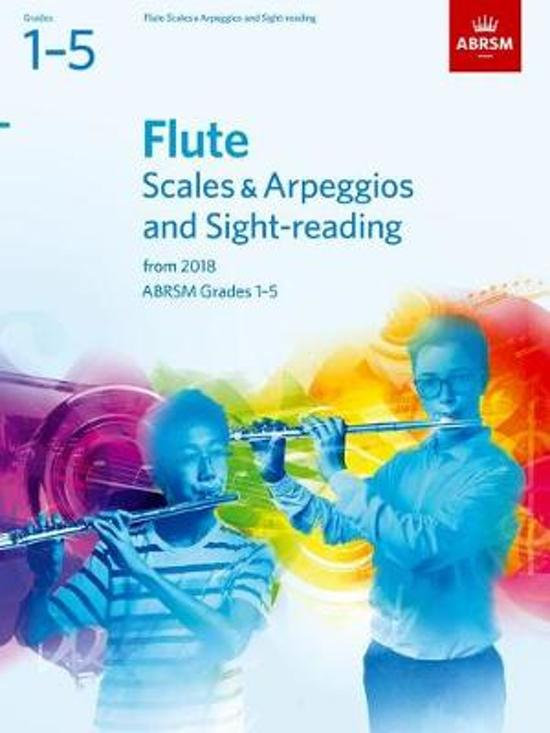 Flute Scales & Arpeggios and Sight-Reading, ABRSM Grades 1-5